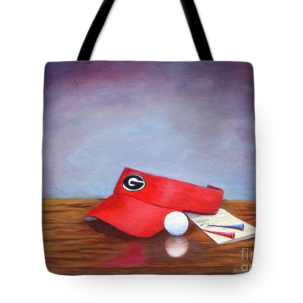 Bulldog Golf Tote Bag