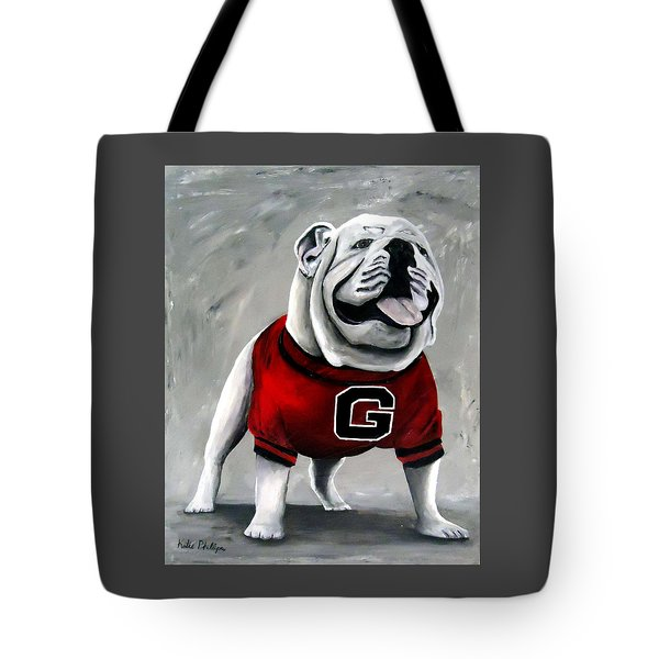 Uga Bullog Damn Good Dawg Tote Bag