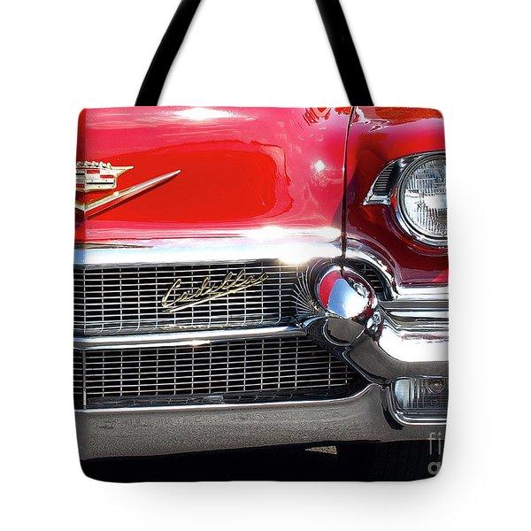 Bullet Bumpers - 1956 Cadillac Tote Bag