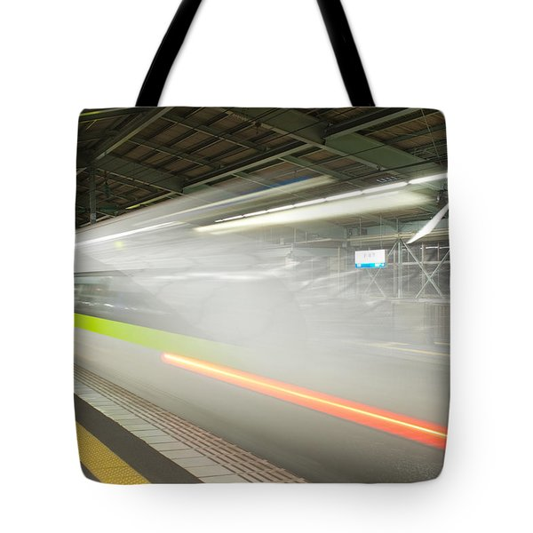 Bullet Train Tote Bag