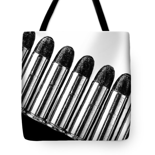 Bullets Tote Bag by Bob Orsillo