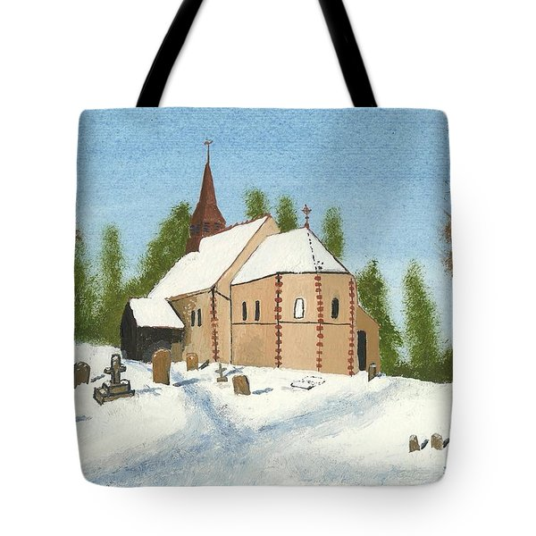 Bulley Church Tote Bag