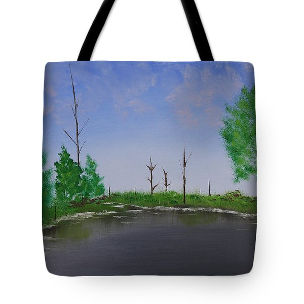Bullfrog Reservoir Tote Bag