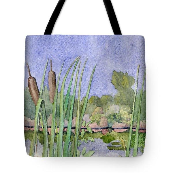 Bullrushes Tote Bag