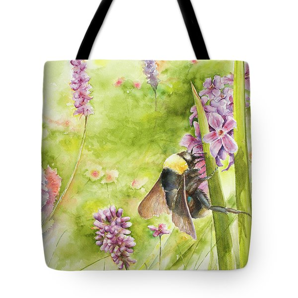 Bumble Tote Bag by Arthur Fix