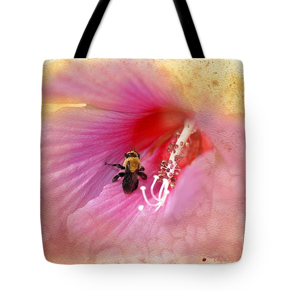 Bumble Bee Bliss Tote Bag by Betty LaRue