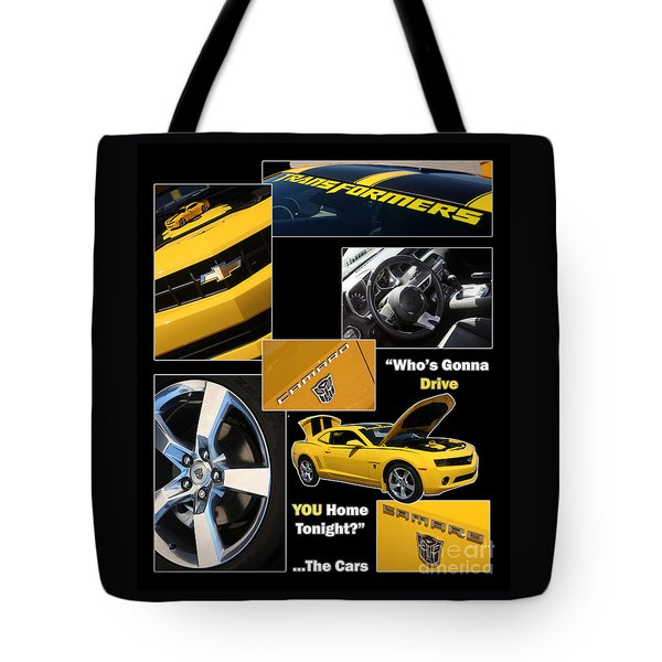 Bumble Bee-drive - Poster Tote Bag by Gary Gingrich Galleries