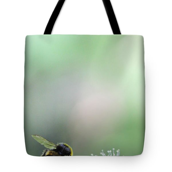 Tote Bag featuring the photograph Bumble Bee by Jivko Nakev