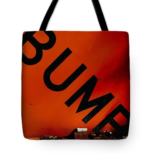 Bump Tote Bag by Newel Hunter