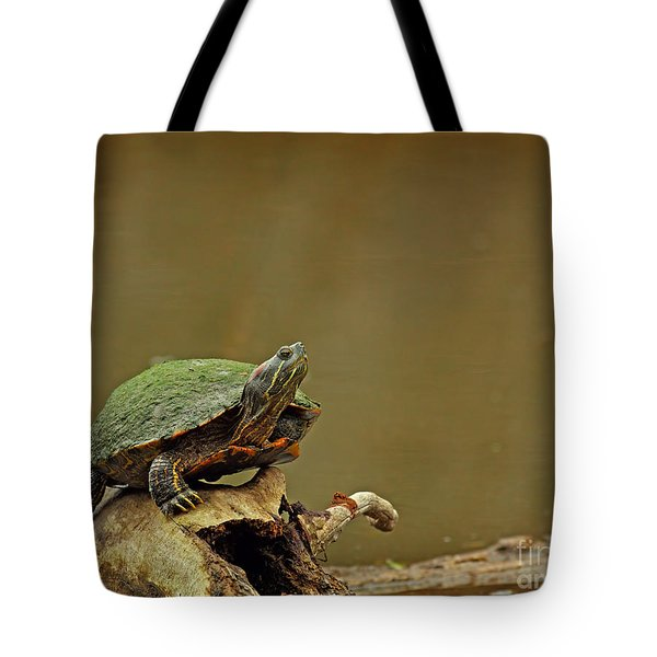 Bump On A Log Tote Bag