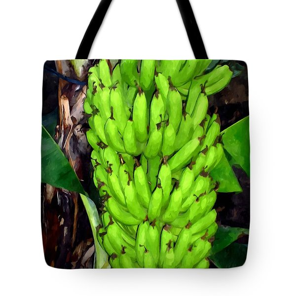Bunch Of Bananas Tote Bag by Lanjee Chee