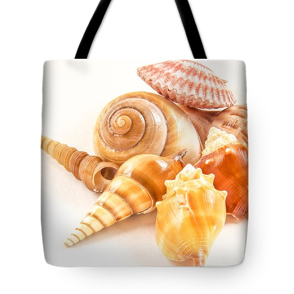 Bunch Of Shells Tote Bag by Jean Noren