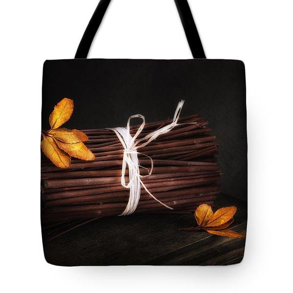 Bundle Of Sticks Still Life Tote Bag