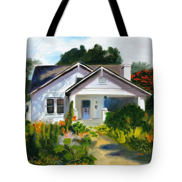 Bungalow In Sunlight Tote Bag