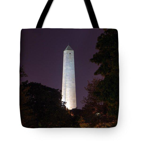 Bunker Hill Monument - Boston Tote Bag by Joann Vitali