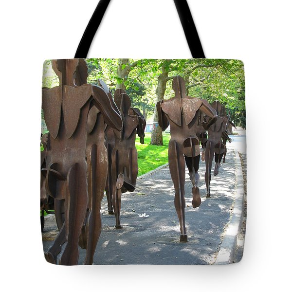 Buns Of Steel Tote Bag