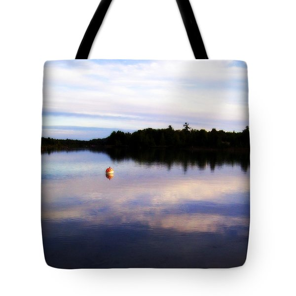 Buoy On The Torch Bayou Tote Bag by Michelle Calkins