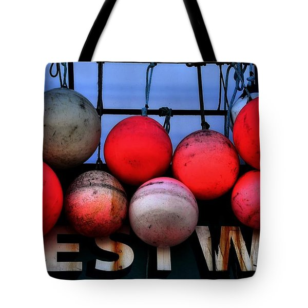 Buoyant Tote Bag by Lauren Leigh Hunter Fine Art Photography