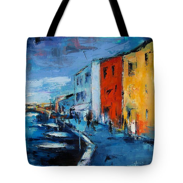 Burano Canal - Venice Tote Bag