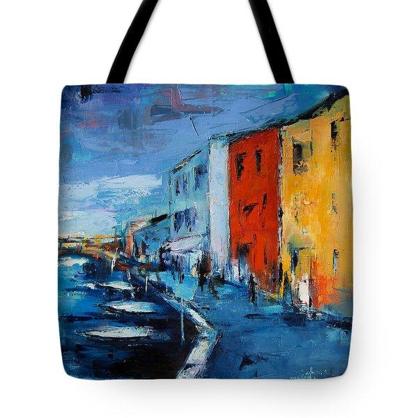 Burano Canal - Venice Tote Bag