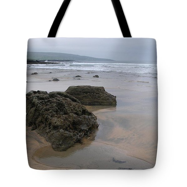 Buren Gold Beach Tote Bag