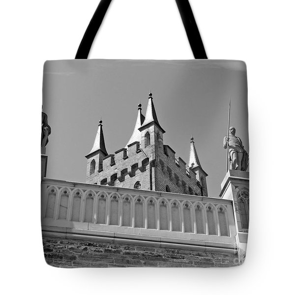 Tote Bag featuring the photograph Burg Hohenzollern by Carsten Reisinger