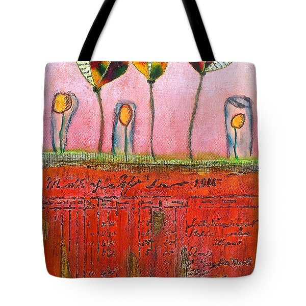 Buried Ledger Tote Bag
