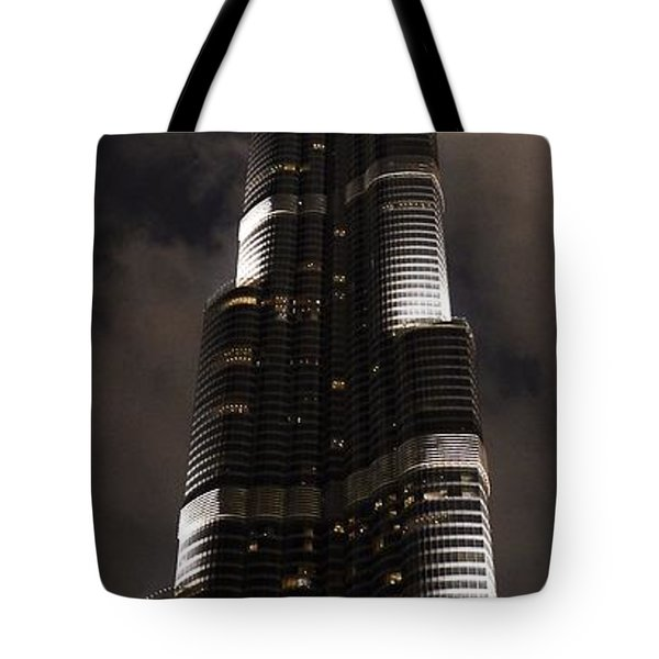 Burj Khalifa Tote Bag by Corinne Rhode