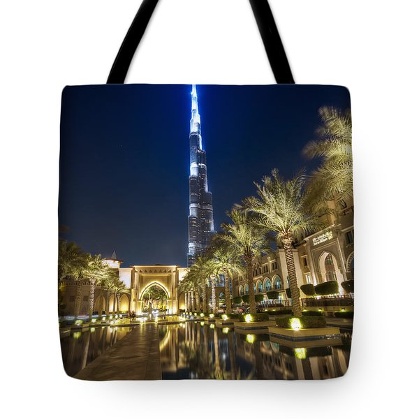 Tote Bag featuring the photograph Burj Khalifa Swoard by John Swartz