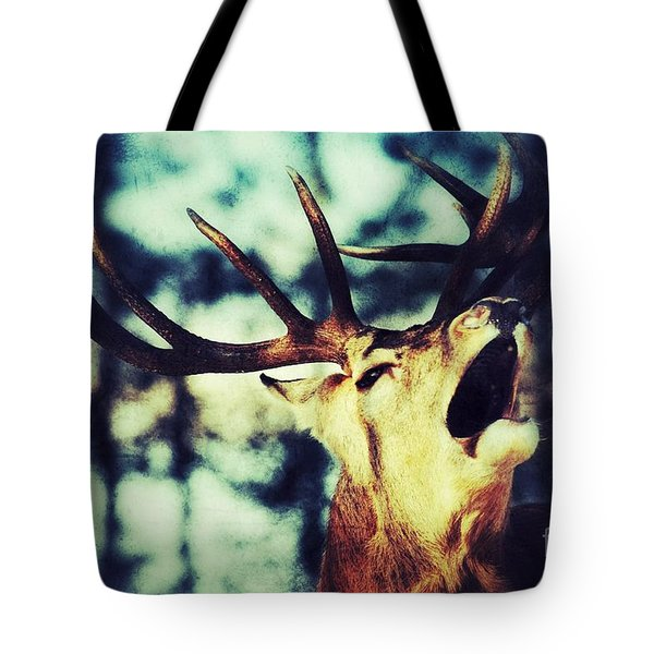 Burling Deer Tote Bag