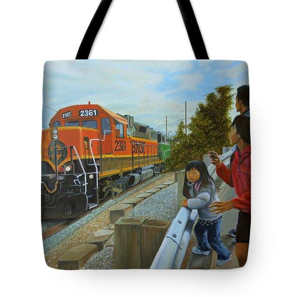 Burlington Northern Santa Fe Tote Bag