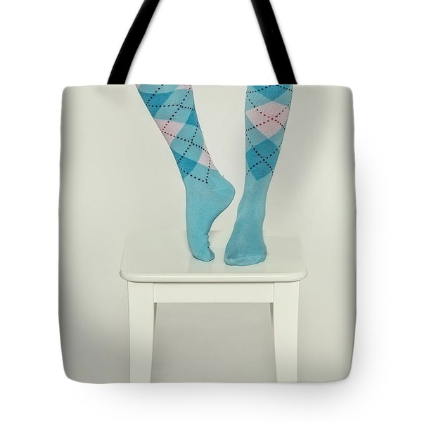 Burlington Socks Tote Bag by Joana Kruse