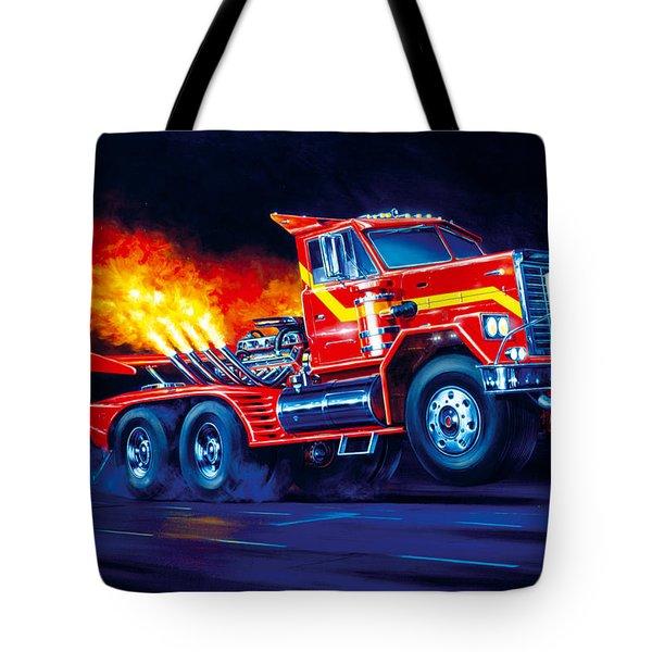 Burn Out Tote Bag