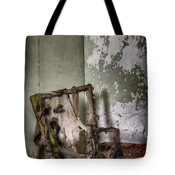 Burned Tote Bag by Margie Hurwich