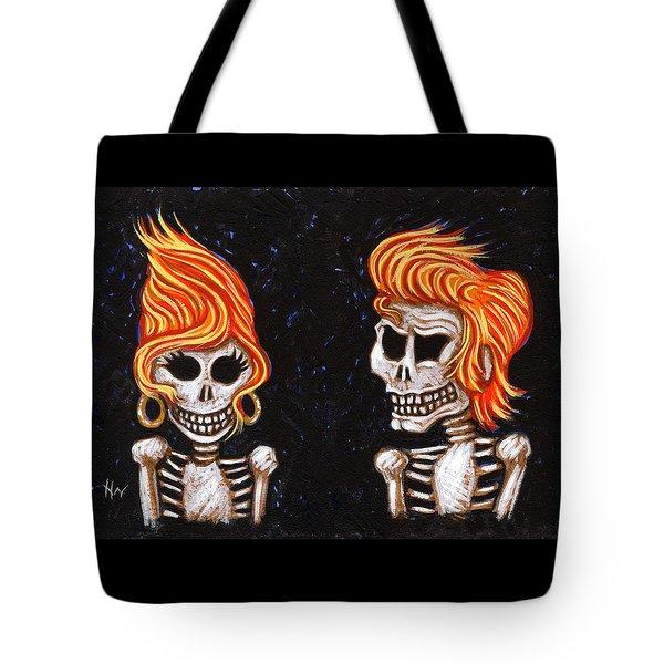 Burnin' Love 4 Ever Tote Bag