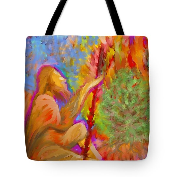 Burning Bush Of Yhwh Tote Bag