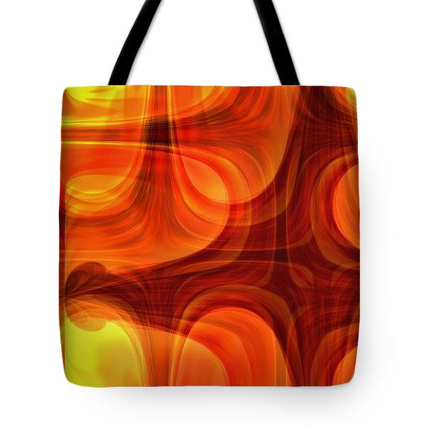 Burning Cross Tote Bag