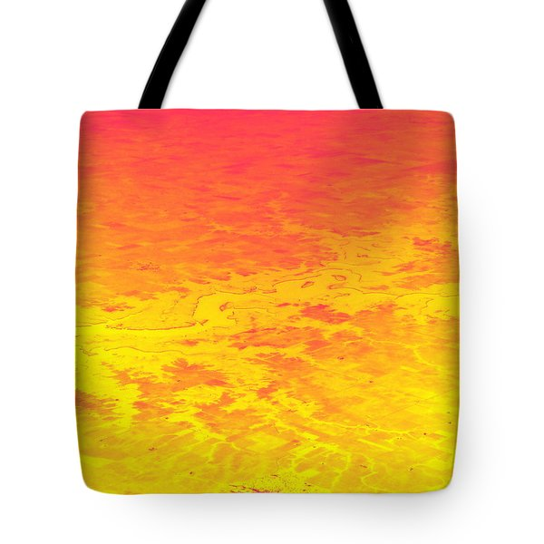 Burning Tote Bag