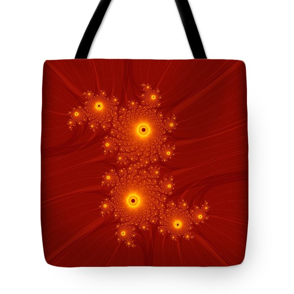 Burning Flarium Tote Bag by Ester  Rogers