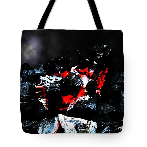 Burning Hell Tote Bag