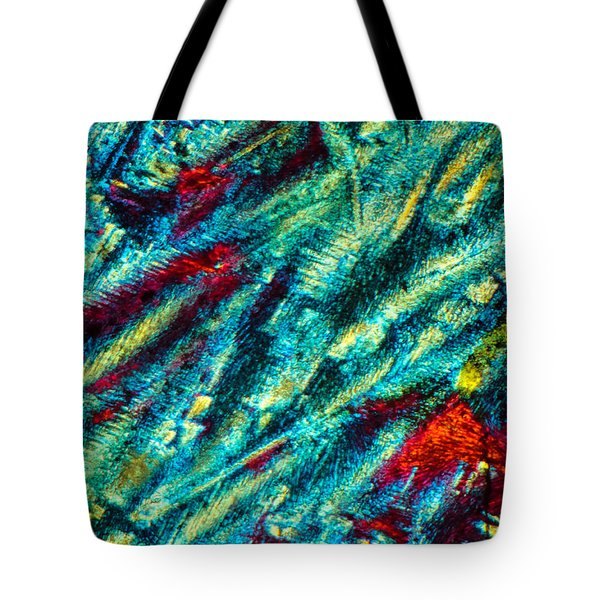 Burning Ice Tote Bag by Tom Phillips