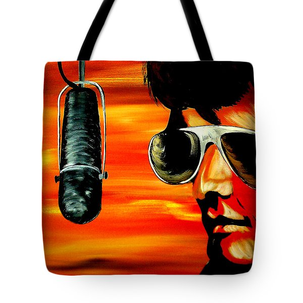 Burning Love  Tote Bag by Mark Moore