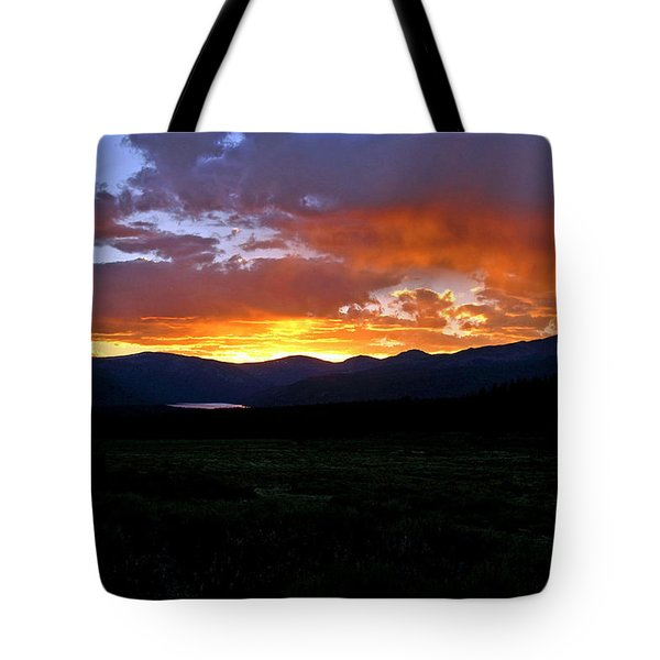 Tote Bag featuring the photograph Burning Of Uncertainty by Jeremy Rhoades