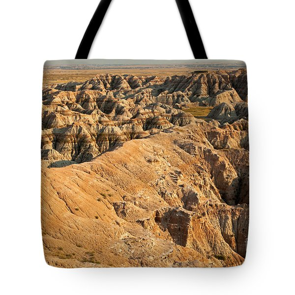 Burns Basin Overlook Badlands National Park Tote Bag