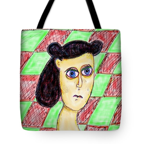 Burnt Out Betty Tote Bag