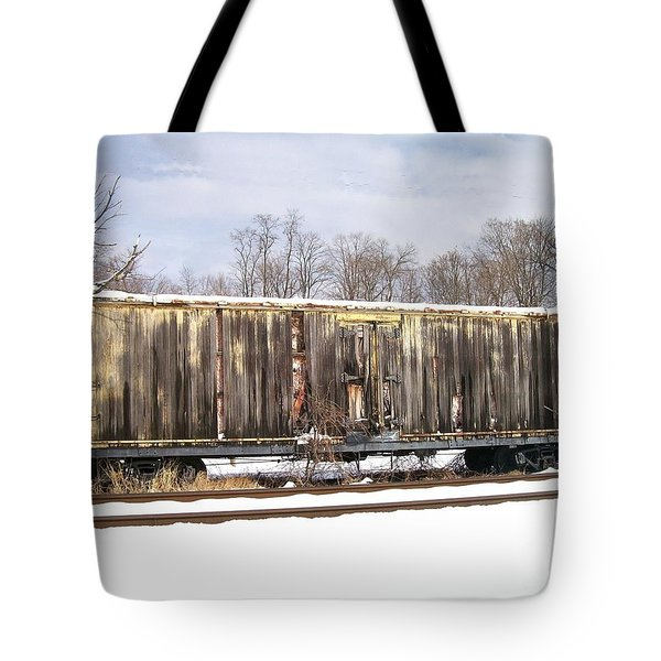 Tote Bag featuring the photograph Burnt by Sara  Raber
