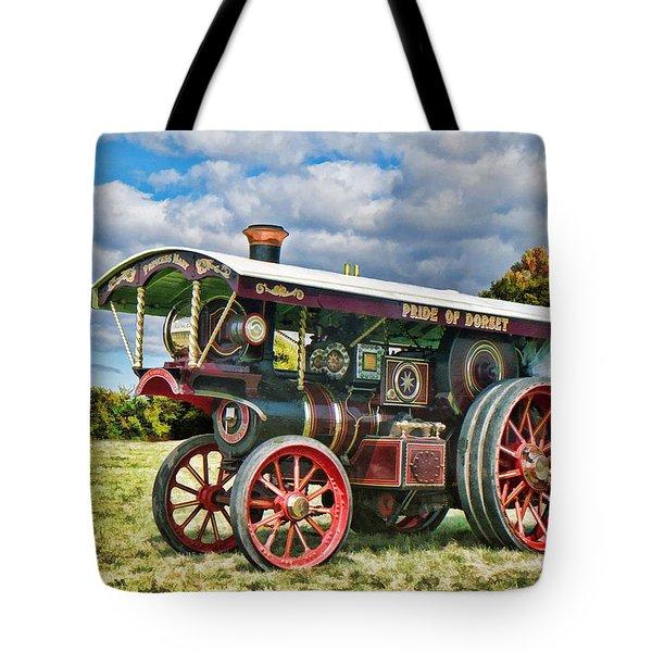 Burrell Showmans Engine Tote Bag