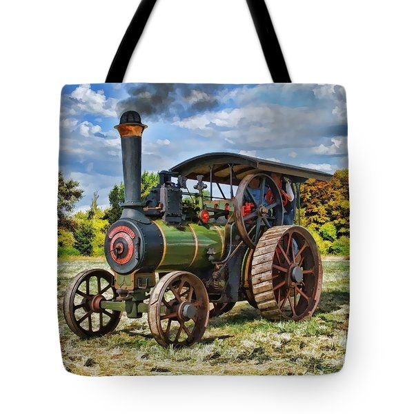 Burrell Steam Engine  Tote Bag