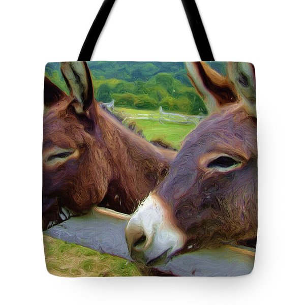 Burro Gang Tote Bag by Ayse Deniz