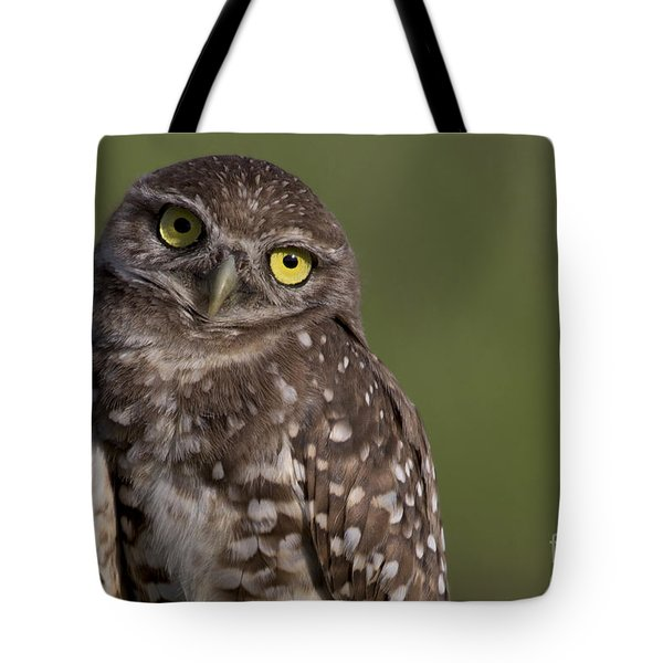 Burrowing Owl Tote Bag